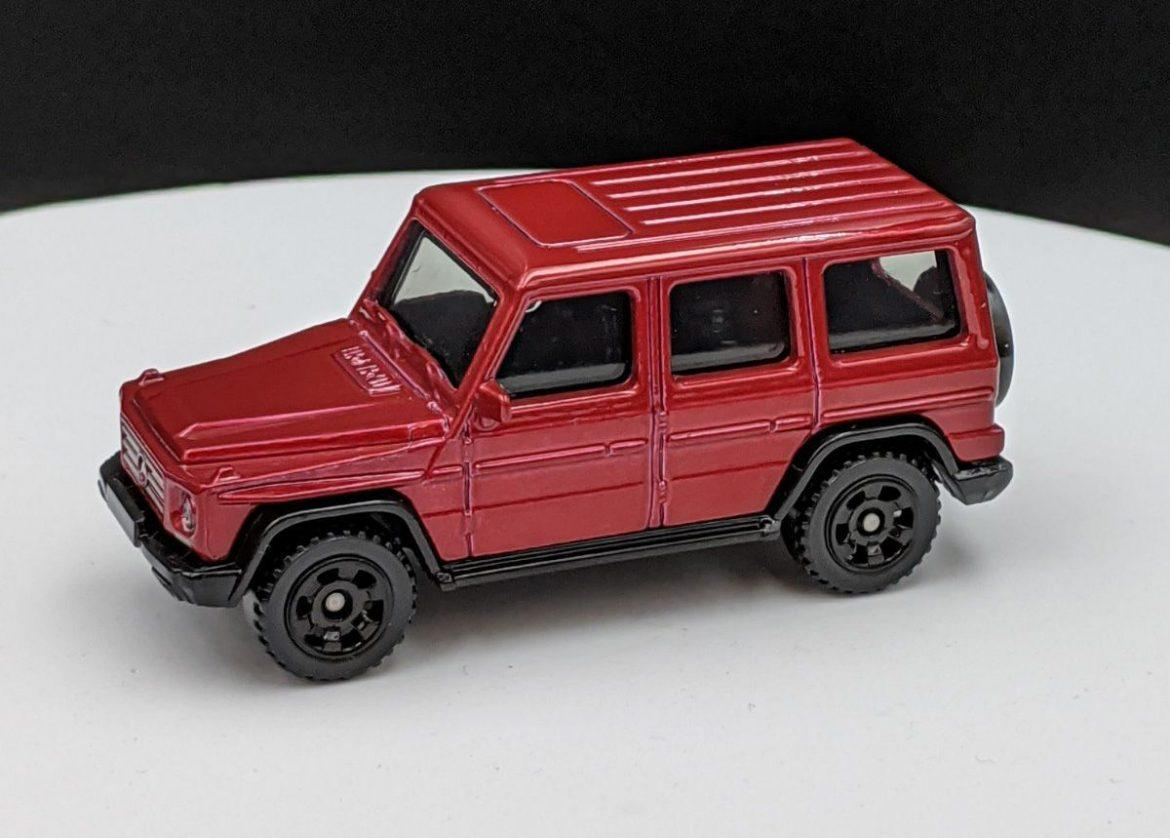 Mercedes Benz G Glass