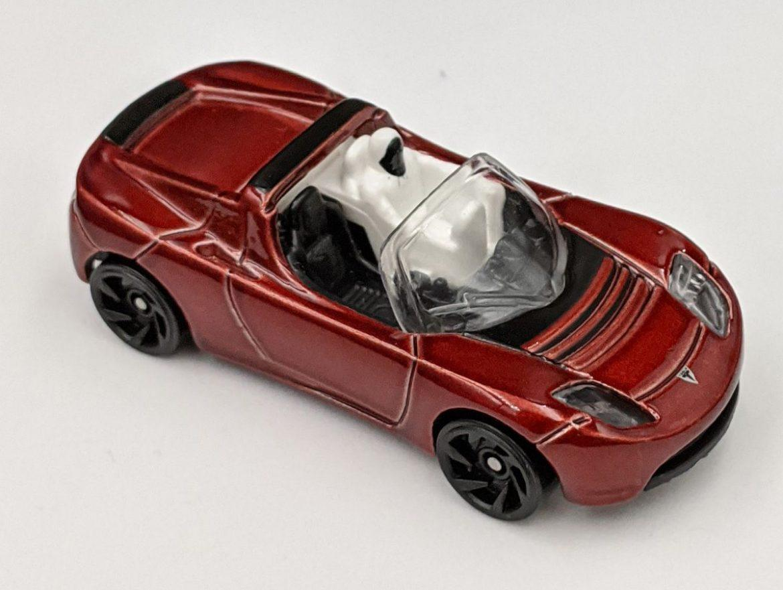 Tesla Roadster f/t Starman