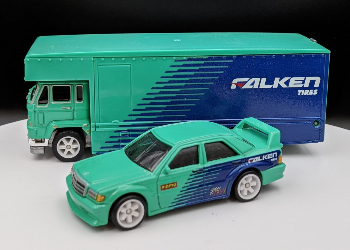 Falken Tires Mercedes Benz 190E