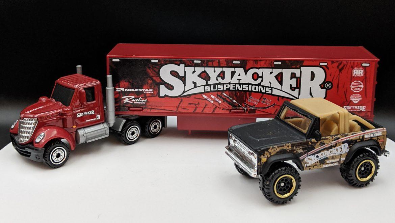 Western Star Skyjacker Truck and Ford Bronco