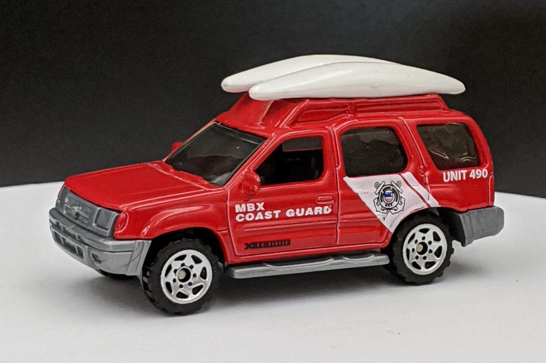 Nissan Xterra Coast Guard Livery