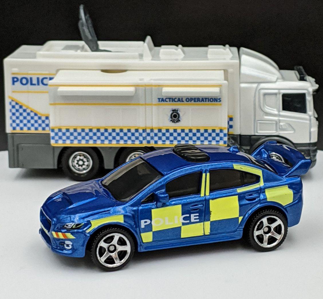 Subaru WRX Police UK Livery