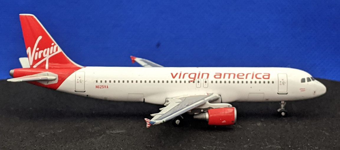 Virgin America Airbus