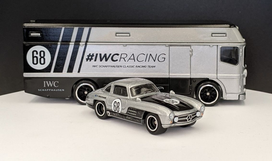Mercedes Benz 300SL IWC Livery and Race Truck