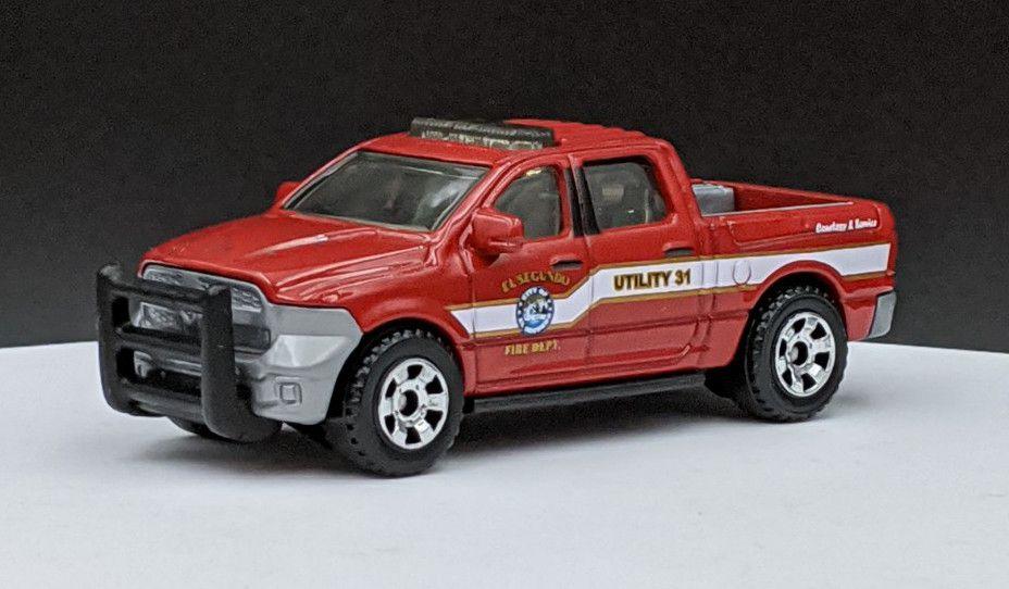 Dodge Ram 1500 Fire Livery