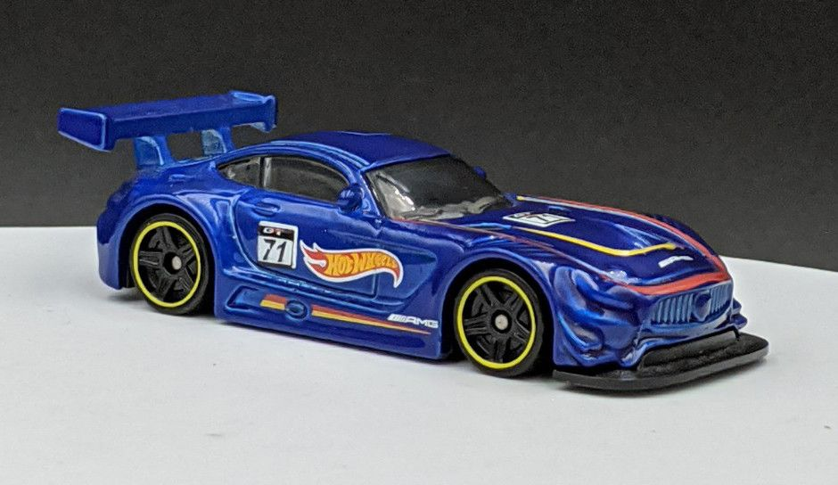 Mercedes AMG GT3 Hot Wheel Livery