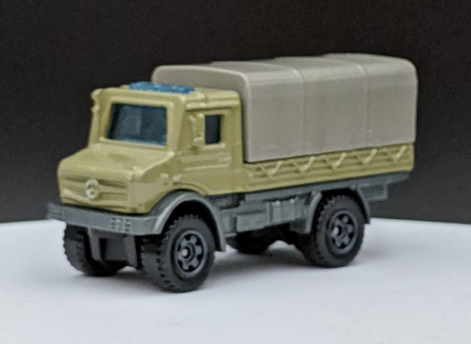 Mercedes Benz Unimog Troop Carrier