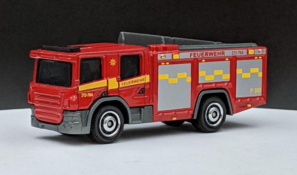 Scania P360 Fire Livery