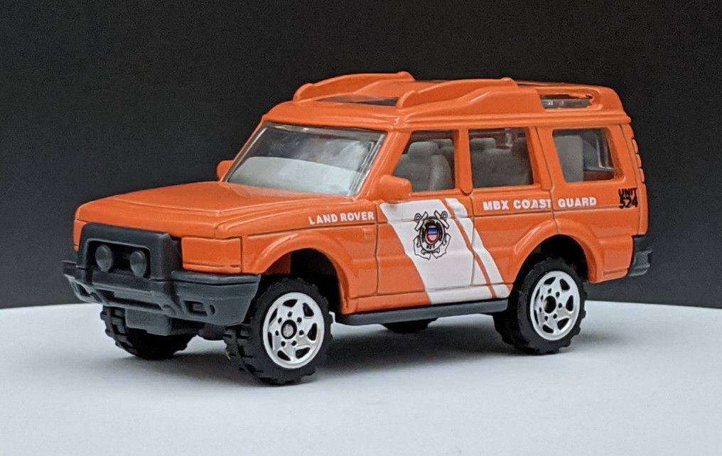 Land Rover Discovery Coast Guard Livery