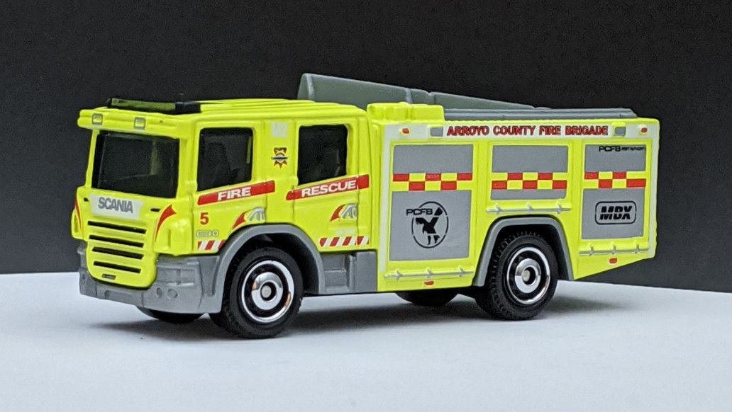 Scania P360 Fire Truck