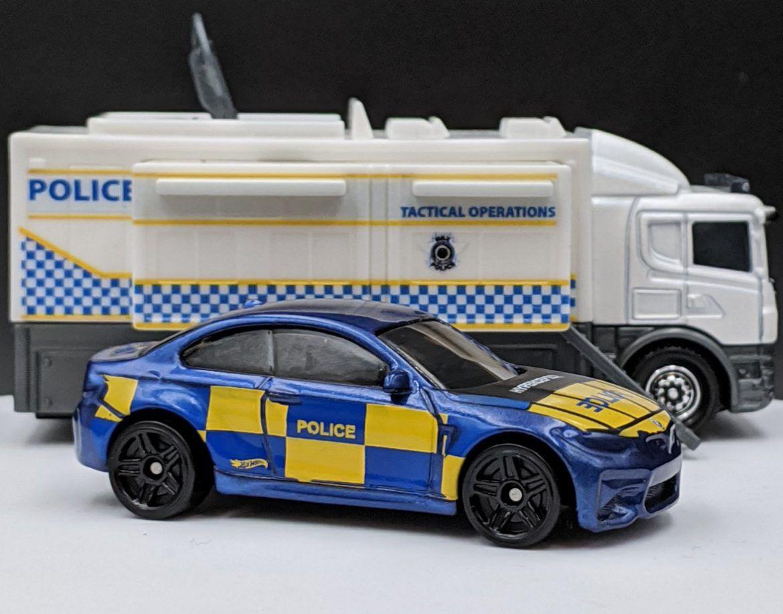 BMW M2 Police Livery