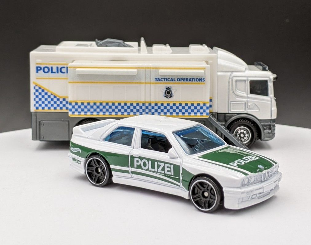 BMW M3 German Police Livery