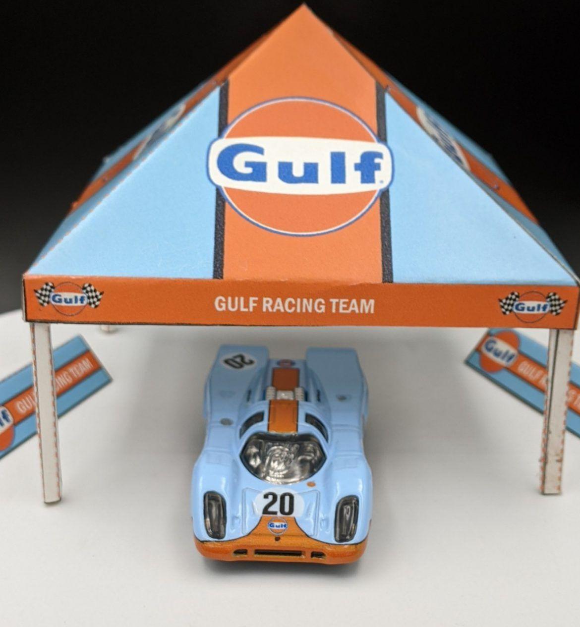 Porsche 917KH Gulf Livery