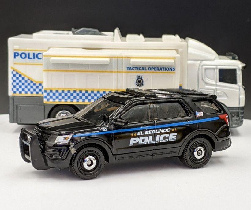 Ford Explorer Interceptor Police Livery