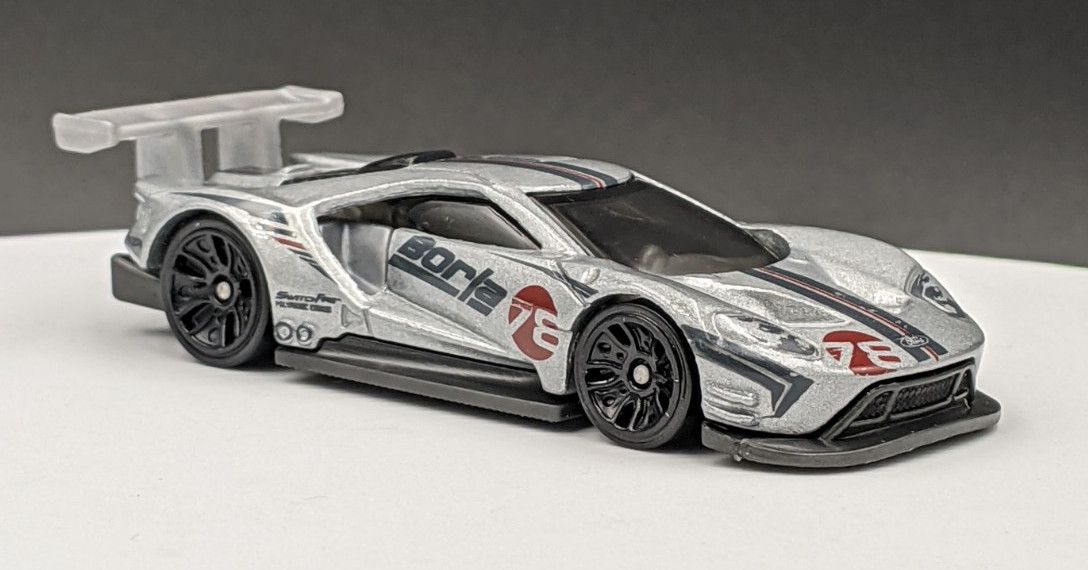Ford GT Racing Borla Exhaust Livery