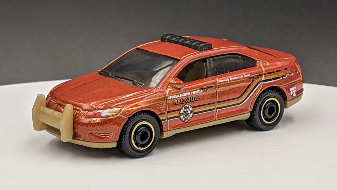 Ford Taurus Interceptor Fire Livery