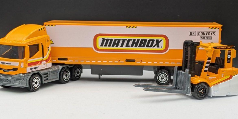 MBX Cabover Matchbox Trailer