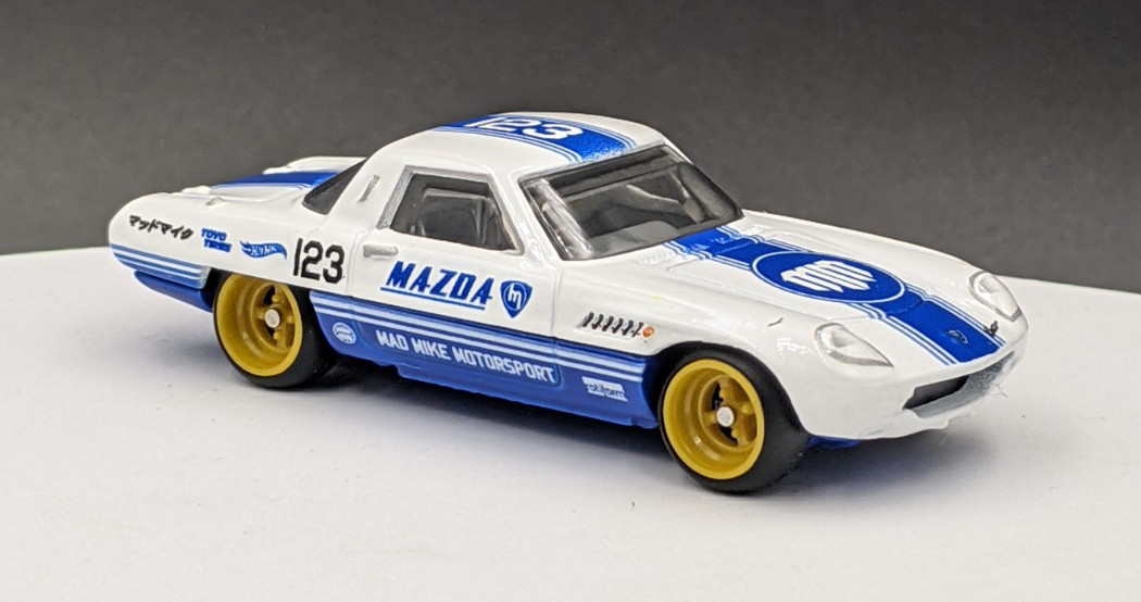 Mazda Cosmos 110 Mad Mike Mazda Livery