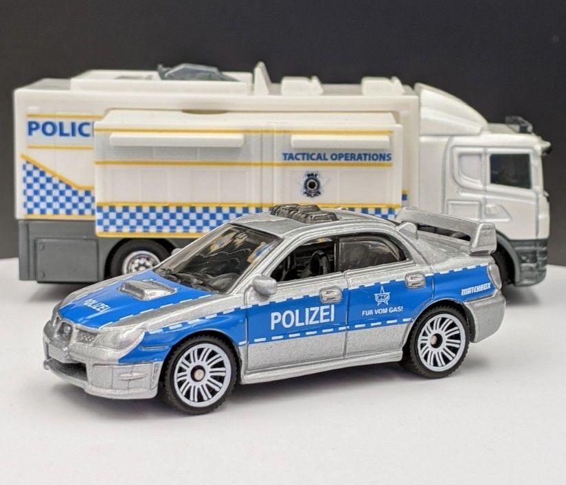 Subaru WRX Polizei Livery