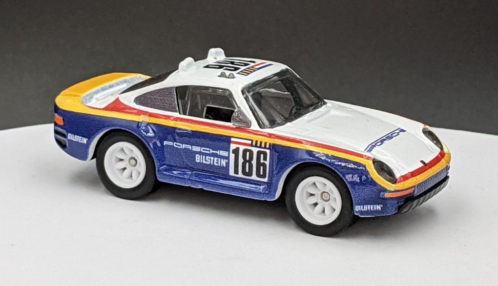 Porsche 959 – Rothmans Livery (Kid Friendly)