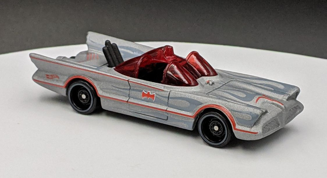 Bat Mobile Original TV Show – Matte Grey