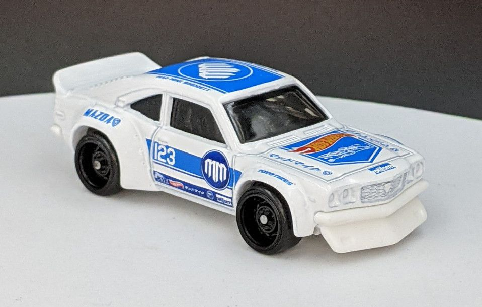 Mazda RX3 Mad Mike Livery