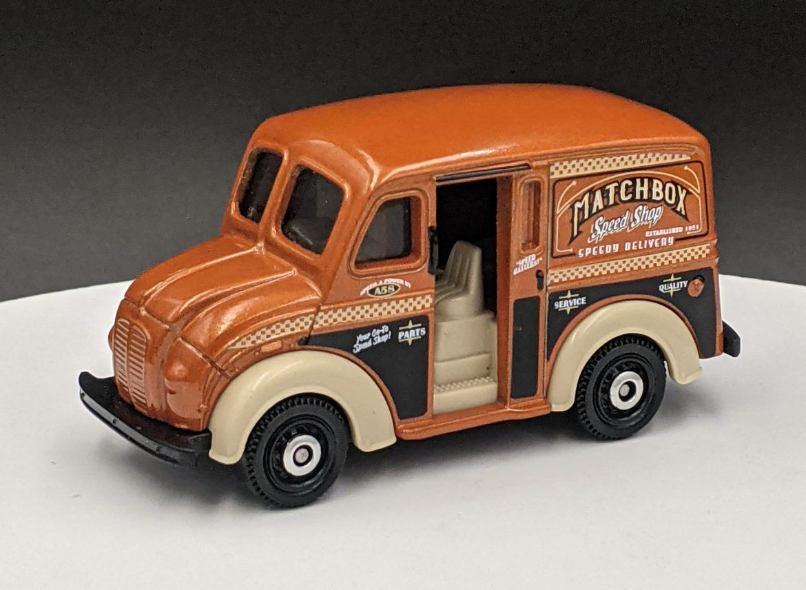 Divco Milk Truck – Matchbox Speed Shop Livery