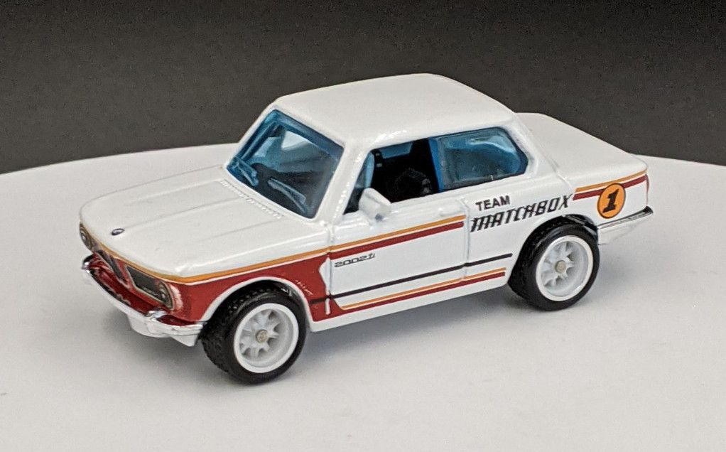 BMW 2002 Matchbox Livery