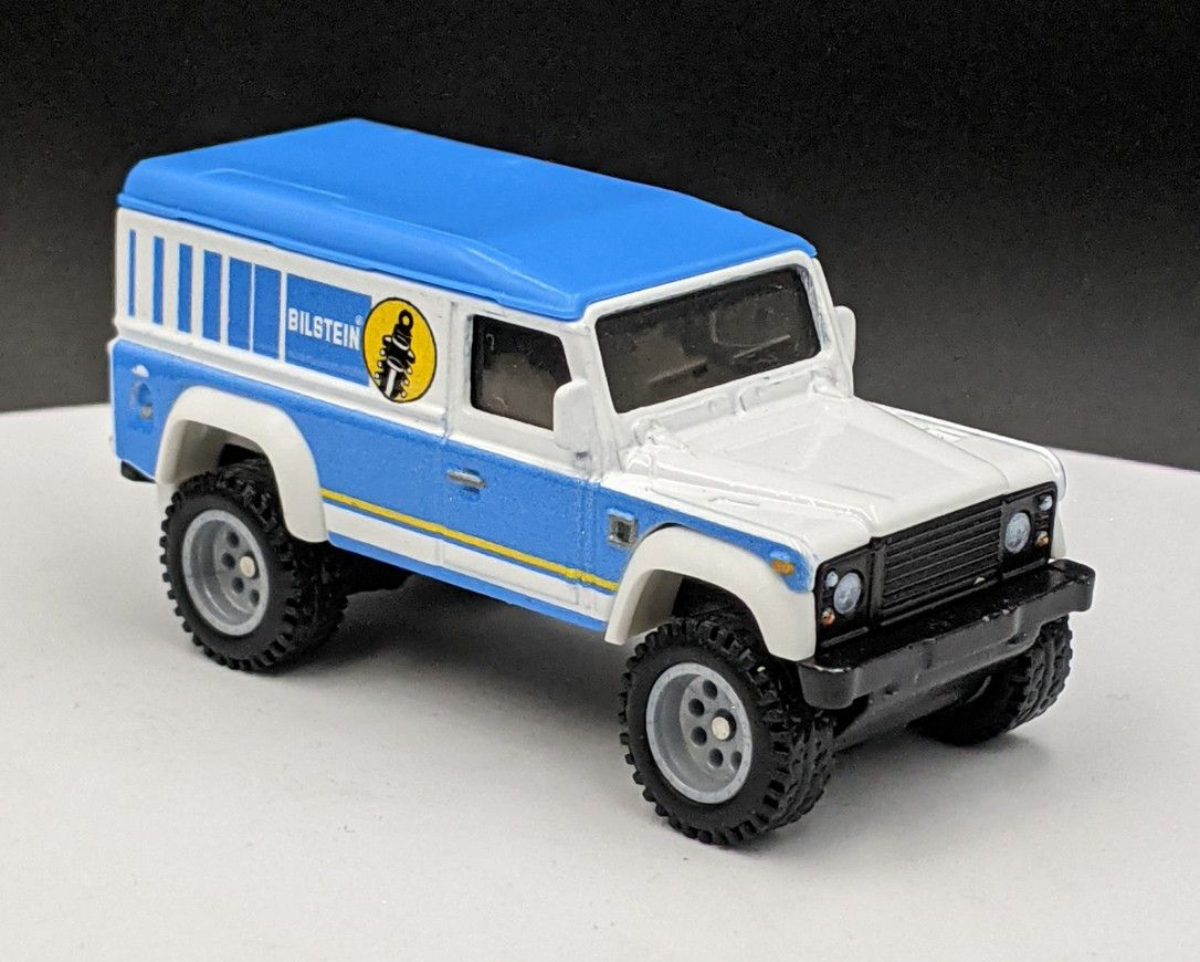 Land Rover Defender 110 Bilstein Suspension Livery