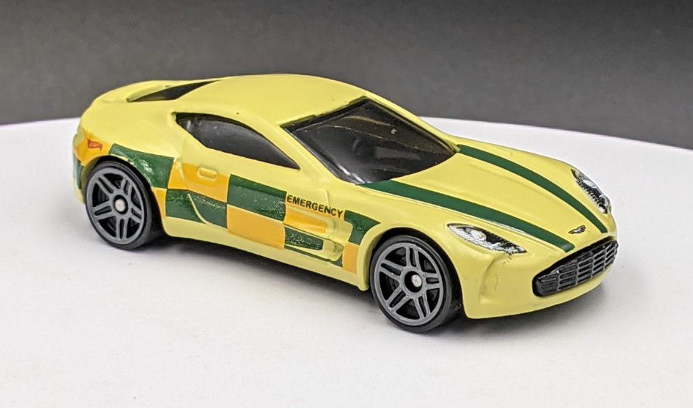 Aston Martin One77 in Emergency Livery