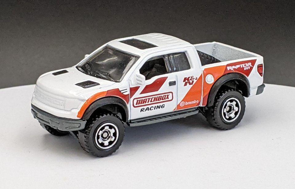 Ford F150 Raptor – Matchbox Racing Livery